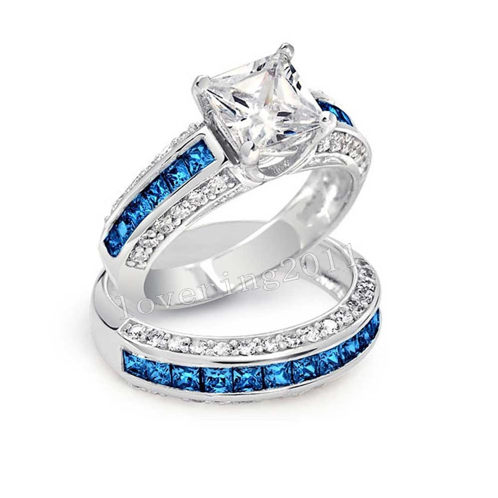 Online Get Cheap Tanzanite Wedding Bands Aliexpresscom Alibaba
