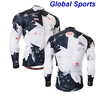 2016 Fashion Winter Cycling Jackets Men Professional Team Racing Cycle Coat Clothes Wear Hot Selling