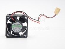 Sunon KDE1204PKV2 2 線式 4020 リニアモーターカー 4 センチメートル静音ファン 0.6 ワット