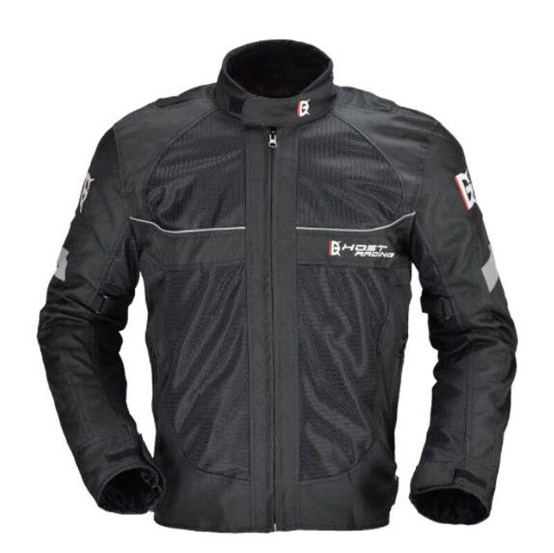 GHOST RACING Moto veste Motocross coupe-vent résistant au froid hommes Moto veste armure Moto veste équipement de protection