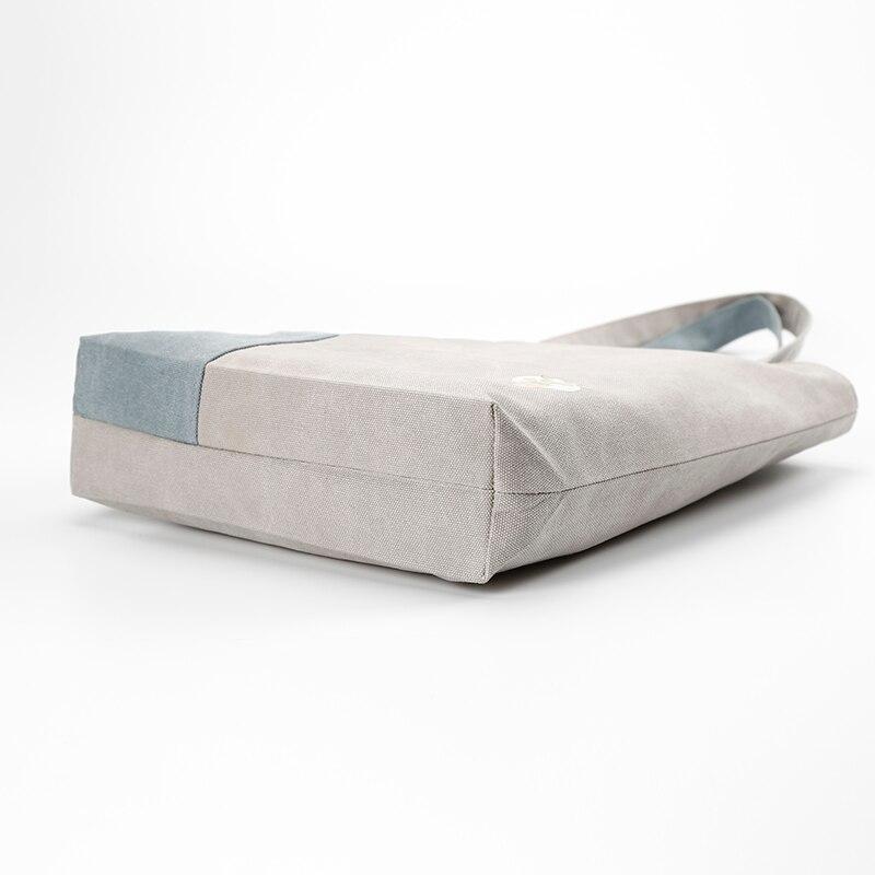 Di Sacchetto Singolo Preppy Bag Bekasnoew Donne Tela Cartelle Spalla Stile Borsa Studenti Delle Solid Modo qwIFUtX