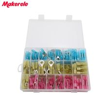 Terminals Forks Heat Shrink Rings Spade 270pcs/Box GP-H018 Assorted Insulated Electrical makerele