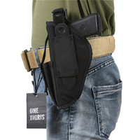 OneTigris Tactical Gun Holster Waist Belt Pistol Holster For Right Left Handed Shooters 1911 45 92