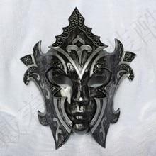 Маскарадная маска для вечеринок принцесса Ретро Италия Венеция маска Мужская и женская маска гладиатора