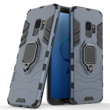sFor Samsung Galaxy S9 Case Magnetic Finger Ring Kickstand Hard Phone Case For Galaxy S9 Samsung Cover For Samsung S9 Fundas цена и фото
