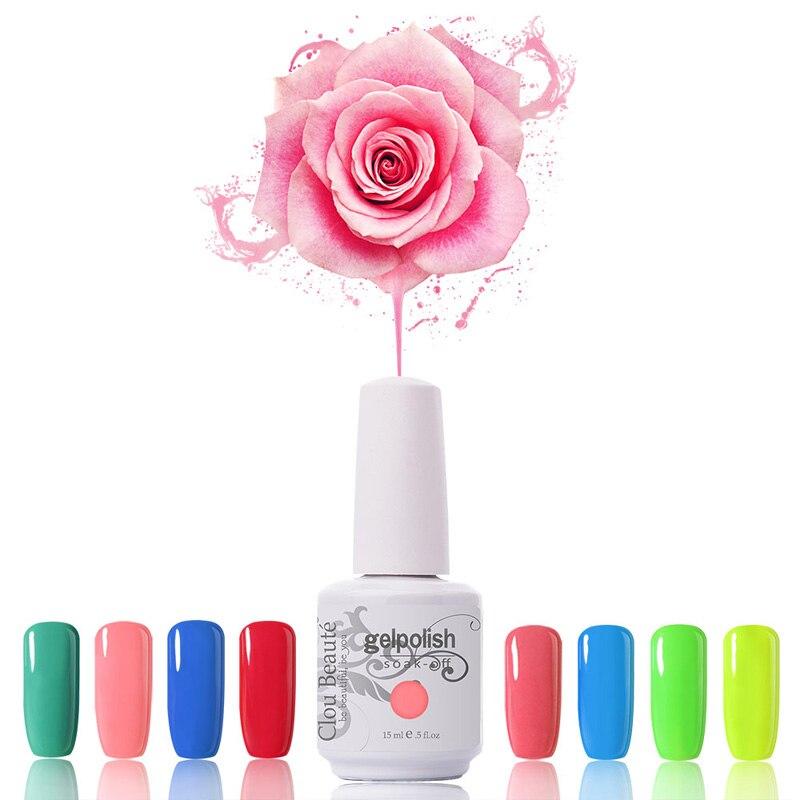 Culori de lux 90 de culori 15ml Clou Beaute Alege o bucata de gel de - Manichiură