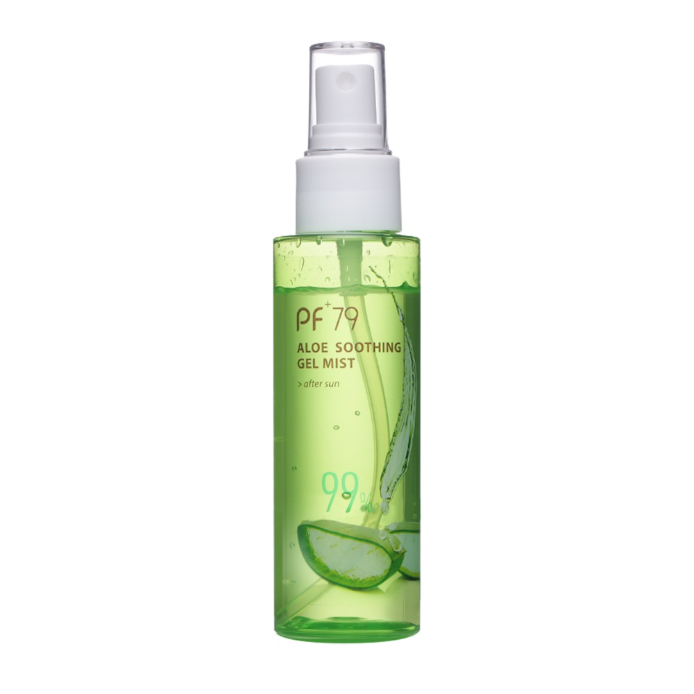 PF79 100ml Aloe Spray Moisturiser Organic Soothing Face Gel Mist Anti Acne Anti Sensitive Oil Control 99% Aloe Vera Gel Toner