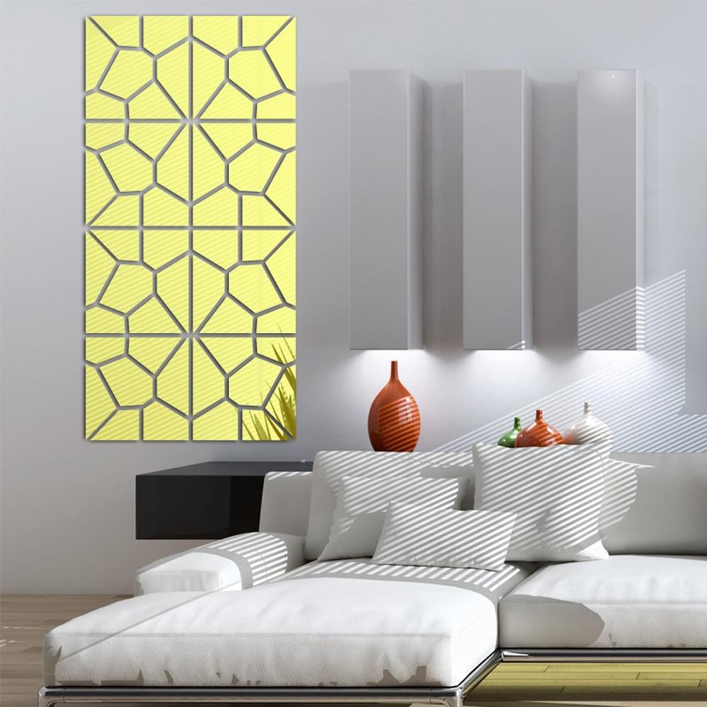 Magnificent 3d Mirror Wall Art Photos - The Wall Art Decorations ...
