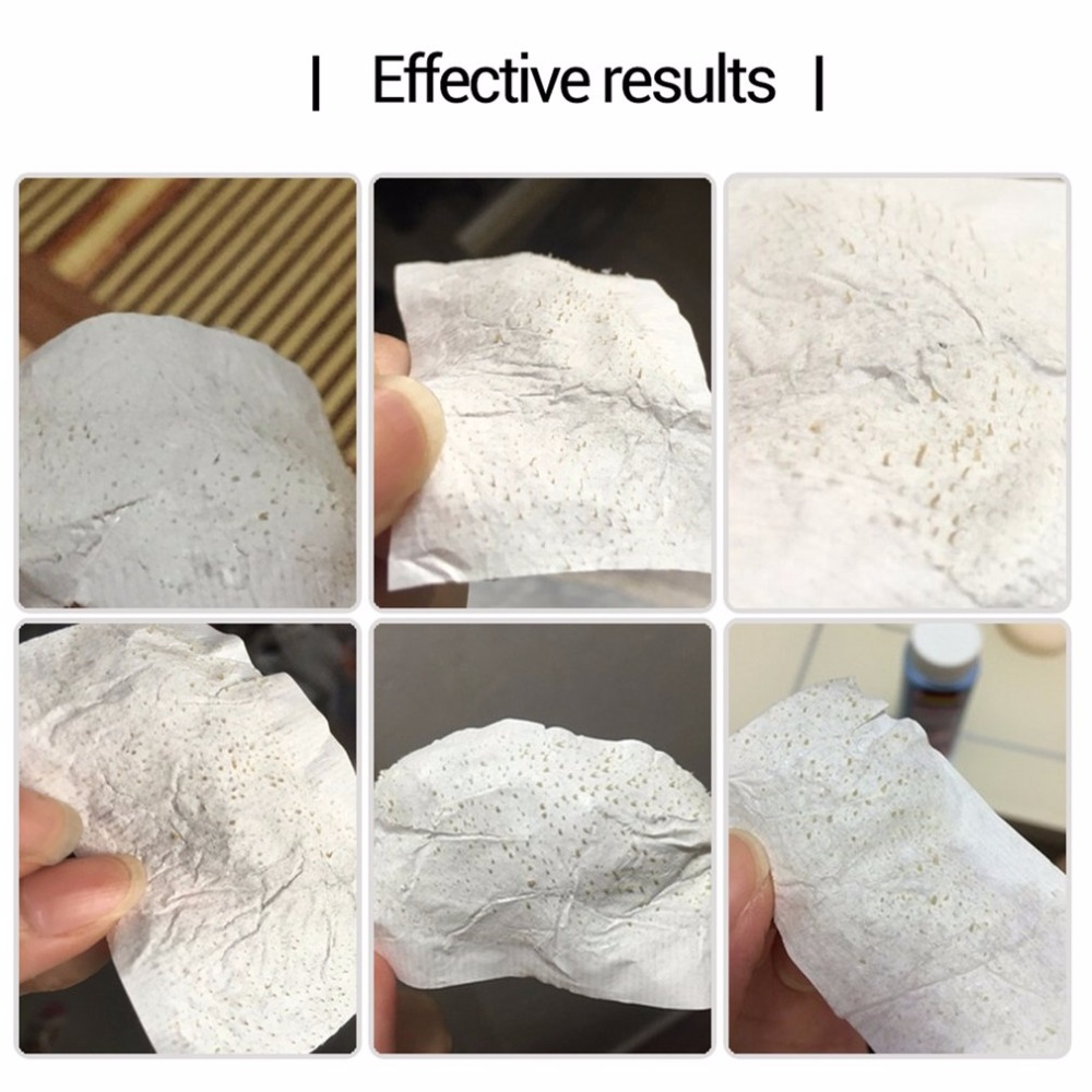 Nose Blackhead Remover Nose Mask Pore Strip Blackhead Peeling Mask Deep Cleansing Skin Care with 60Pcs Paper in Treatments Masks from Beauty Health