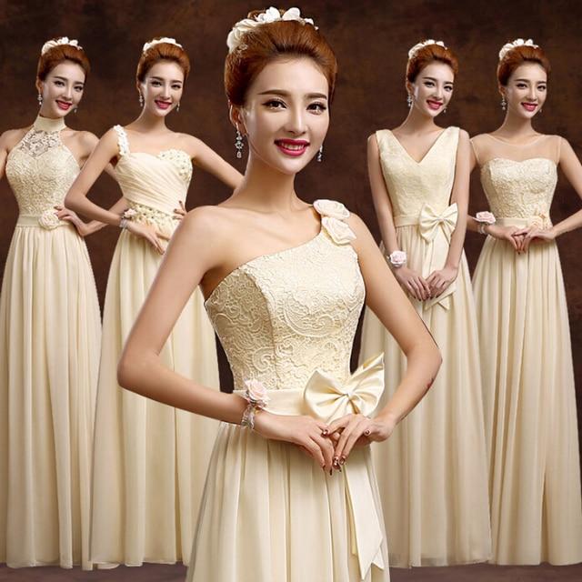 Champagne Goddess Beach Plus Sizes Bridesmaid Dress Bridesmaids Long