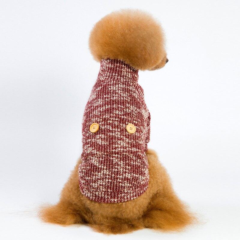 HELLOMOON Pet Warm Sweater Dog Turtleneck Sweater in Dog Sweaters from Home Garden