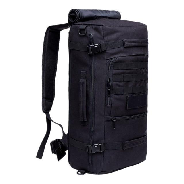 f4ac2cfc4831 US $31.68 52% OFF|Men's Military Backpack Waterproof Nylon School Bag  Camouflage Backpacks Multi function Men Travel Bag-in Backpacks from  Luggage & ...