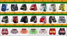 Shorts de boxe pugilist muay thai, calções de boxe masculinos para crianças e adultos, tigre, mma e luta