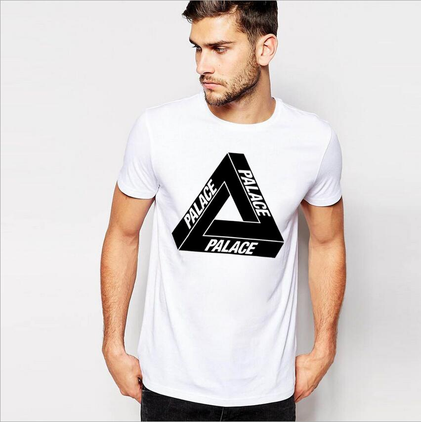 Palace Of Hip Hop T Shirt Brand Clothing Men Triangle