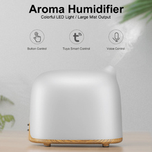 Smart WiFi Ultrasonic Air Humidifier Aroma Essential Oil Diffuser for Home Car USB with LED Night Lamp Aromatherapy cool mist