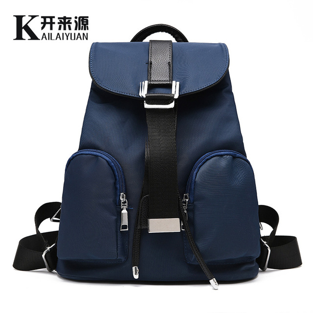 100 Genuine Leather Women Backpack 2018 New Bag Fashionista Spring And Summer Fashion Leisure