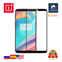 Original Oneplus 5T 3D Tempered Glass Screen Protector Black