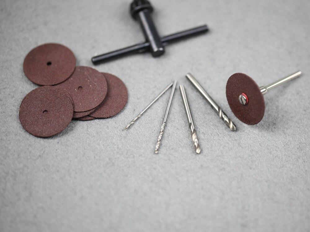 Kleine Elektrische Mühle Gravur Maschine Miniatur Bohrer Einstellbar Variable Geschwindigkeit Bohrer Elektrische Schleifen Bohrer Lager Großhandel - 6