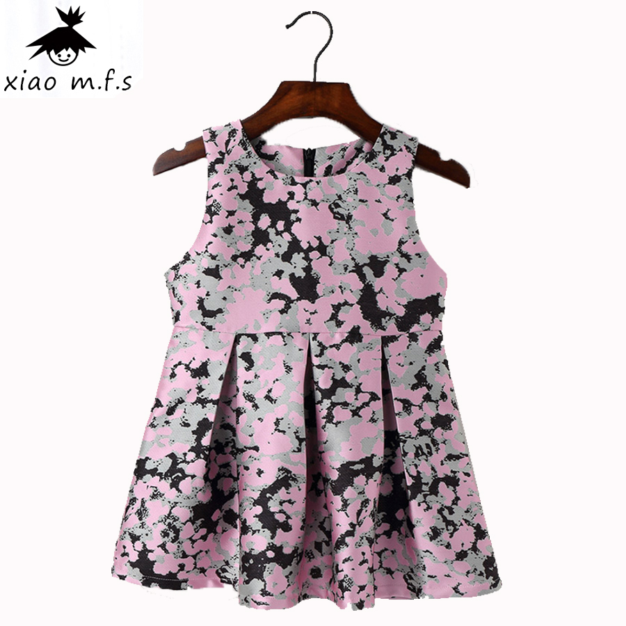 2017 Winter toddler kids dresses for girls Princess Dress  Children Formal baby girl clothes for party and wedding clothing