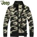 АФН JEEP/Battlefield Jeep 2016 продвижение новые мужские случайные кардиган свитер осенью и зимой мужская мода пальто 80