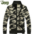 AFS JEEP/Jeep Battlefield 2016 promoción más nuevos hombres suéter de la rebeca ocasional otoño y el invierno de la moda capa de los hombres 80