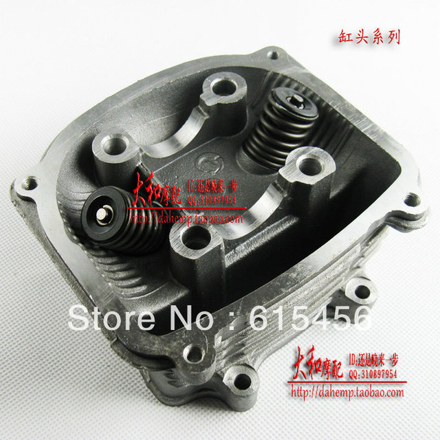 GY6 125/150CC Scooter Cylinder Head ASSY(57.4MM),Free Shipping