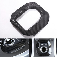 YAQUICKA Car Gear Shift Panel Frame Trim Car covers Styling Sticker For Land Rover Range Rover Evoque 2012 2017 Auto Accessories
