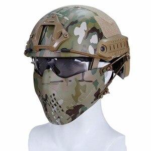 Wosport Tactical Paintball Mas