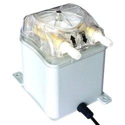 مضخة تمعجية 1000 ملليمتر/دقيقة ، 30 رطل لكل بوصة مربعة ، هونيت 24 فولت برأس مضخة قابلة للتبديل وأنبوب تمعجي BPT اللفاف