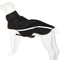 Reflective Safety Medium Large Dog Clothes Golden Retriever Labrador Outdoor Waterproof Breathable Pet Clothing Soft Coat