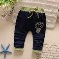 Otoño Del Resorte Del Bebé Niños Chicos niñas Babi Imprimir Casual Tejido de Punto Pantalones Largos de Cuerpo Entero Pantalones Y1936