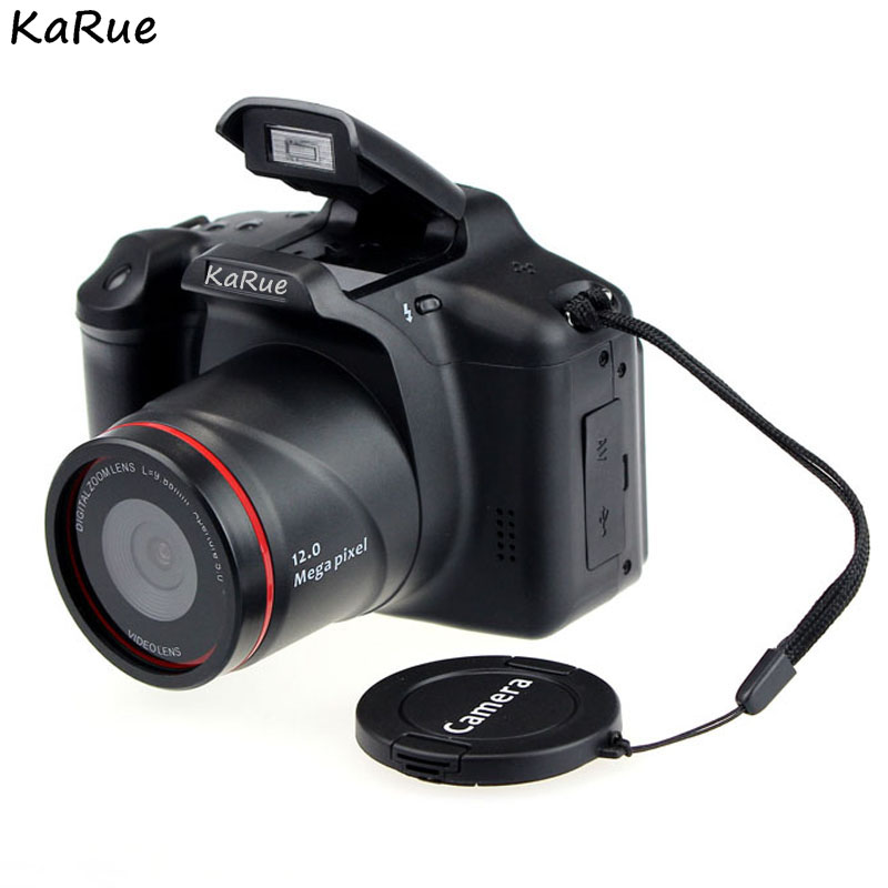 KaRue XJ05 Digital Camera SLR 4X Digital Zoom 2.8 inch Screen 3mp CMOS Max 12MP Resolution HD 720P TV OUT Support PC Video