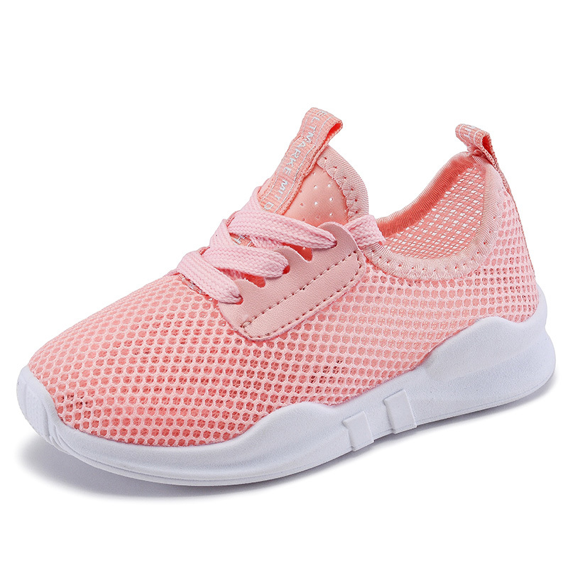 Mumoresip Girls Shoes Boys Sports Shoes Childrens Casual Sneakers Kids Running School Students Air Mesh Net Fabric Breathable