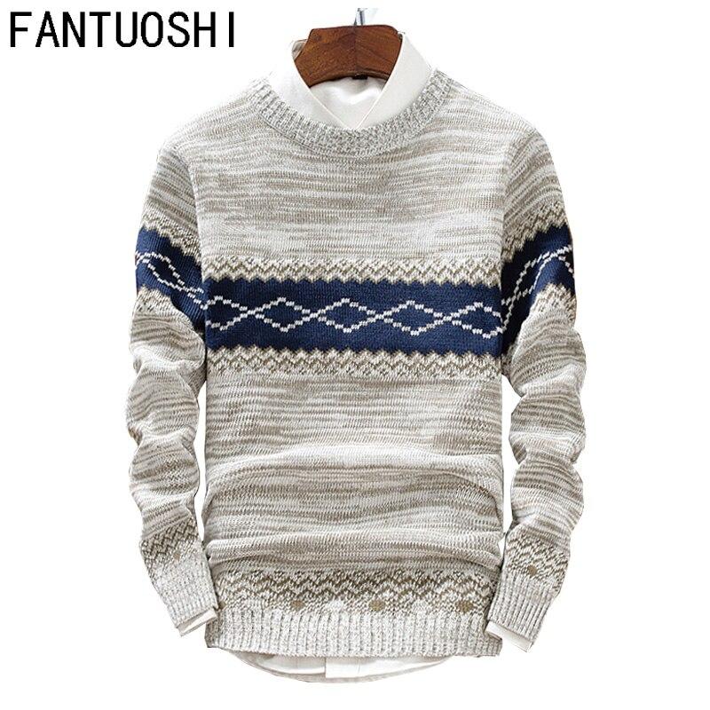 2018 Autumn Sweaters Men O-Neck Hip Hop