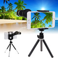8X Zoom Telephoto Telescope Lens and Mount Tripod for Cell Phone Smart Phone Camera Lens