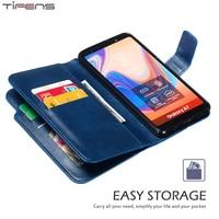 Wallet Flip Leather Case Voor Samsung Galaxy A52 A72 A32 A12 A02 A51 A71 A70 A50 S A40 A30 A20 a5 A7 2017 A6 A8 2018 Telefoon Cover