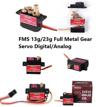 FMS Predator Servo 13g 23g Full Metal Gear Digitale/Analoge Servo 300mm Kabel RC Vliegtuig Model hobby Vliegtuig Vliegtuigen Onderdelen