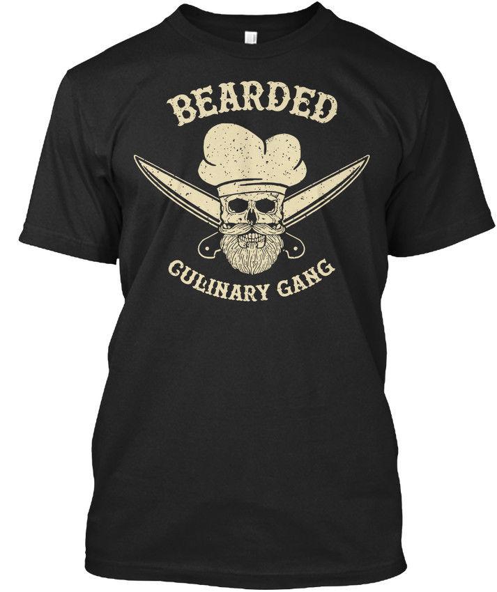 f6d7559a 2019 Новая модная летняя Хлопковая мужская футболка нового дизайна,  дизайнерская футболка с бородатым кулинарным принтом