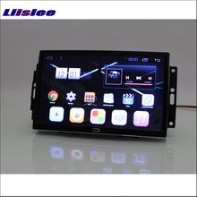 Liislee Car Android 6.0 GPS Navigation Multimedia For JEEP Grand Cherokee Radio HD Screen Audio Video No CD DVD Player System