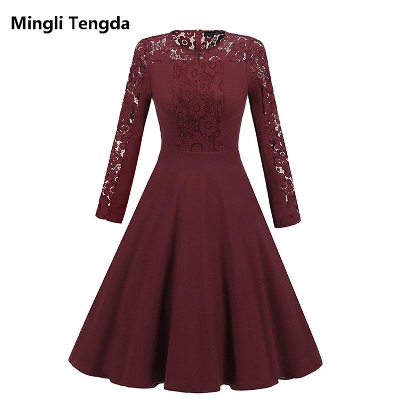 Mingli Tengda Navy Blau Voll Mutter der Braut Kleid Spitze 2018 Mutter der  Braut Kleider Plus bb043ba457