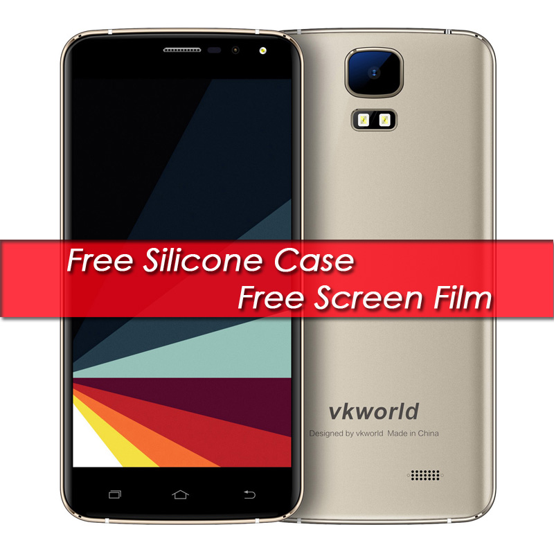 "Original Vkworld S3 5.5"" IPS Smartphone 1GB RAM 8GB ROM 8.0MP Camera Android 7.0 Mobile Phone MT6580A Quad Core Free Shipping"
