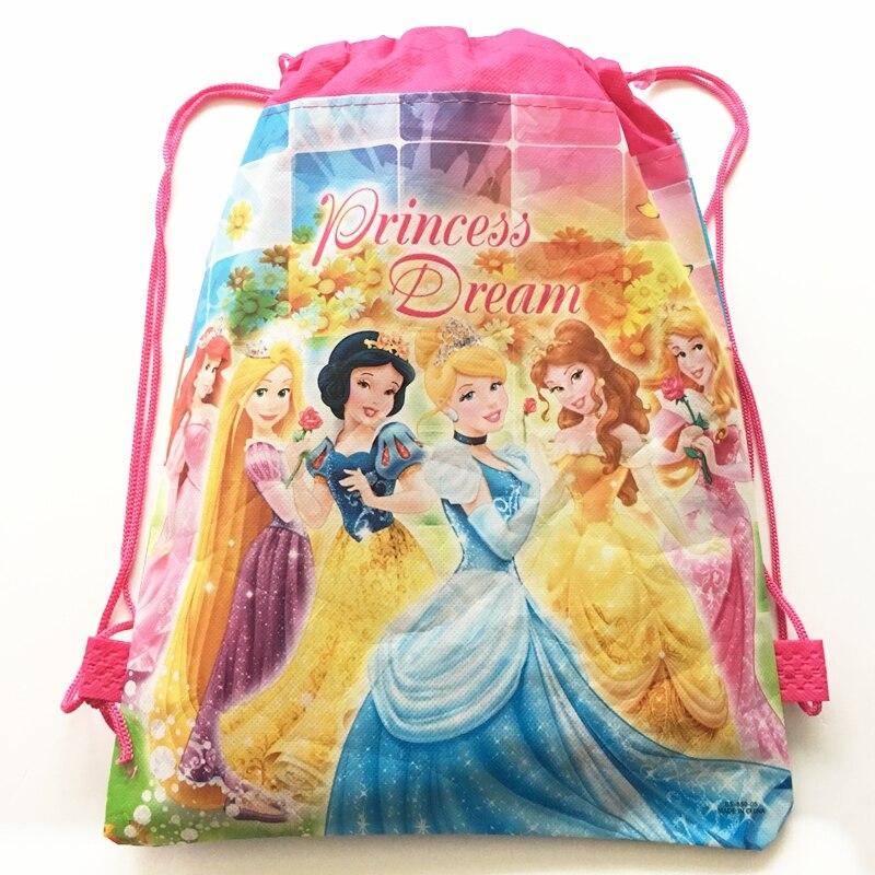 Paquete De 4 Soportes De Disney Princess Individual Magdalena para Cumpleaños Bautismos