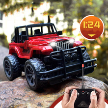 1/24 RC Car Radio Remote Control Toys Vehicle Climbing Off-road Jeep Driving Bigfoot Car Model Toy Gift For Children