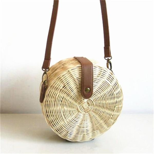 Woven Rattan Bag Knitting...