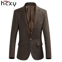 HCXY 2018 autumn New Arrival Business male blazer high quality Casual Blazers Men Formal jacket Popular Design Men Suit Jackets