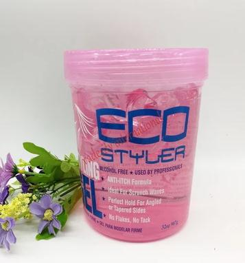 Eco hair styling gel curl and wave X 32oz /907g hair styler styling gel oz 16 super protein eco styling hair gel 473ml