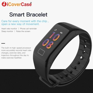 Image 5 - For Xiaomi Mi 8 pro 9 se 6 5 a1 a2 lite 5s plus pocophone F1 Waterproof Smart Watch Wristband Blood Pressure Heart Rate Tracker