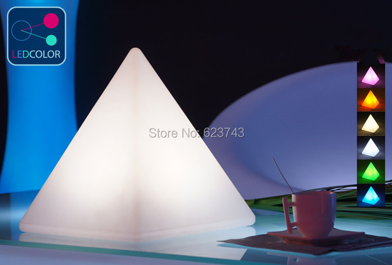 Free shipping Remote control colorful modern minimalist LED pyramid light of decoration led night lamp for Christmas gifts free shipping remote control colorful modern minimalist led pyramid light of decoration led night lamp for christmas gifts