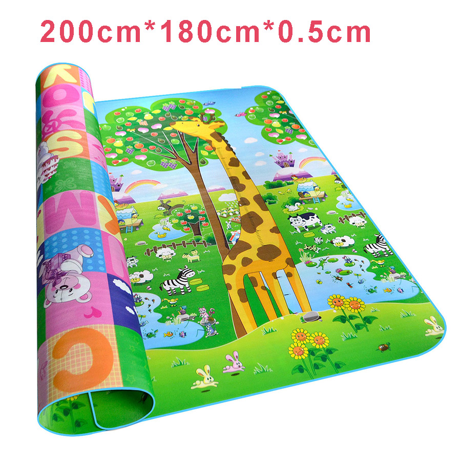 kids rug soft floor road mat for children activity mat crawling game play mat toy baby dancing. Black Bedroom Furniture Sets. Home Design Ideas