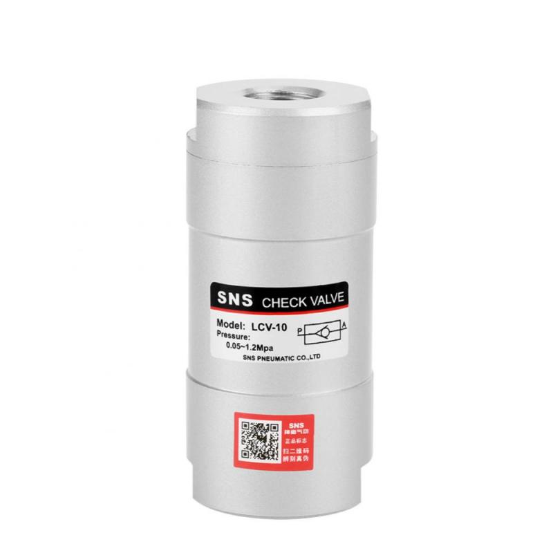 Logisch Pt 3/8 port Runde Pneumatische Eine Möglichkeit Überprüfen Ventil Luft Richtung Control Werkzeug Lcv-10 Sanitär